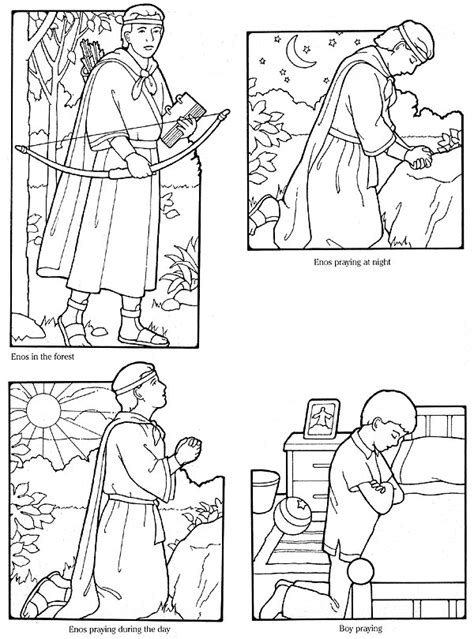 lds coloring pages praying primarily inclined primary 2 lesson 10 i can speak with