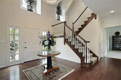 Staircase Ideas Near Entrance 44 Entrance Foyer Design Ideas For Contemporary Homes Photos