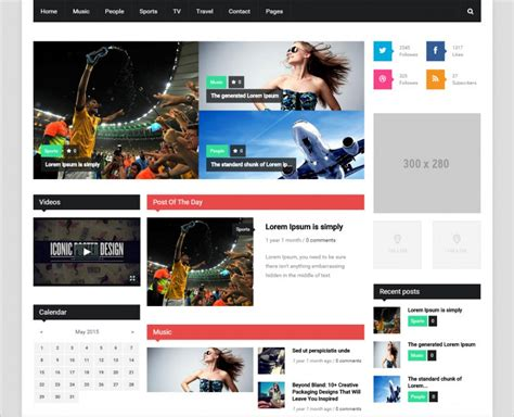 newspaper theme for drupal 8 best news magazine drupal templates themes free