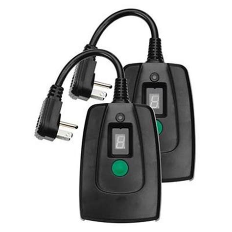 Digital Outdoor Light Timer 2 Pk Photocell Sensor Digital Light Timer V2045 60 Outdoor Ebay