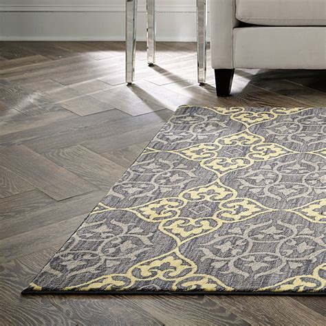 Yellow Gray Area Rug Yellow And Grey Area Rugs Cepagolf