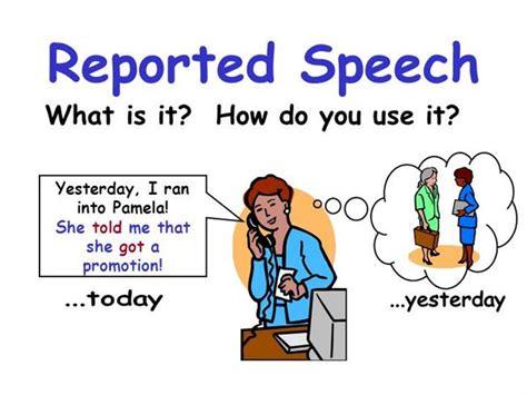 gossip simple meaning reported speech authorstream