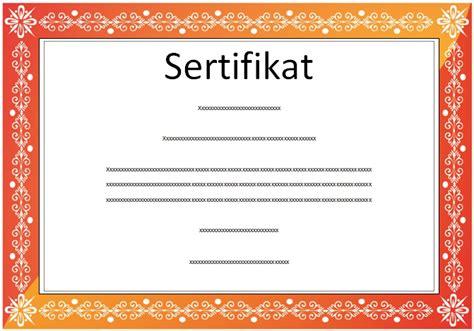 gambar format sertifikat download undangan gratis desain undangan pernikahan