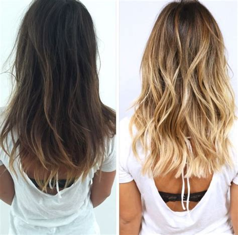 turning dark brown hair to blonde best 20 brown to blonde ideas on pinterest brown to