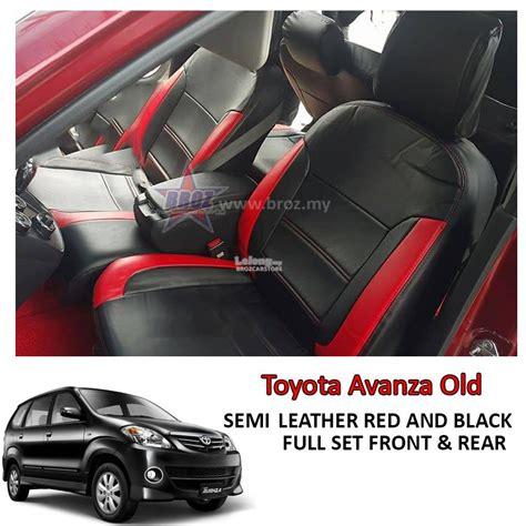 cover mobil avanza black car seat cover semi leather end 8 4 2018 5 15 pm