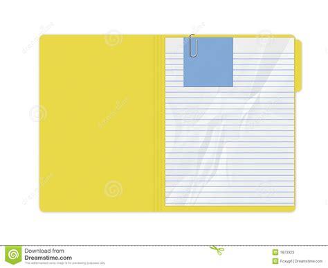 salita amarilla frases para carpeta carpeta amarilla fotos de archivo imagen 1873323