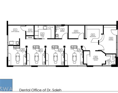 dental office floor plans dental office floor plan sles