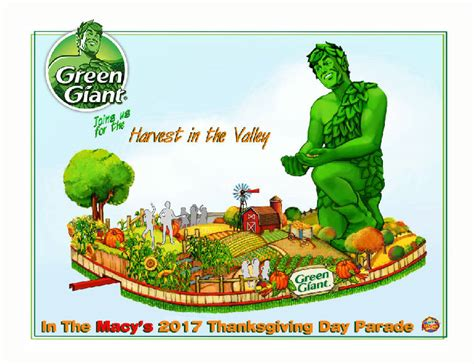 Jolly Float Story 2012 alaina joining jolly green in macy s thanksgiving day parade times free press