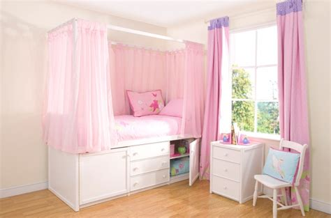 cabin beds for girls children s white four poster bed cbc