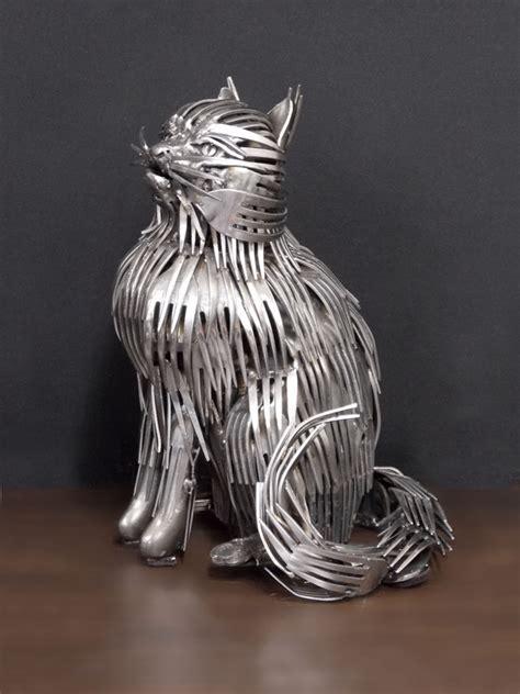 Cool Flatware stainless steel sculptures shanghai metal corporation