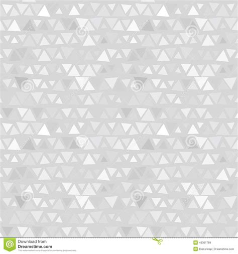 gray triangle pattern vector seamless pattern of triangles gray background stock