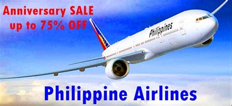 pal new year promo philippine airlines up to 75 on 75th year anniversary