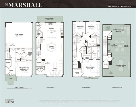 luxury townhome floor plans grosvenor heights a new luxury townhouse development
