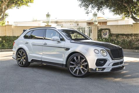 custom bentley bentayga bentley bentayga gets mansory kit and forgiato wheels