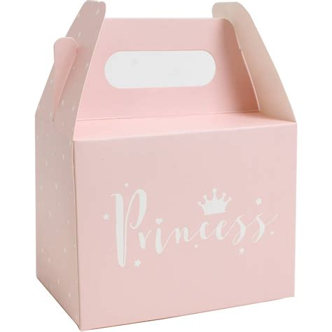 pink decorative christmas boxes pink princess party boxes 5 pack hobbycraft