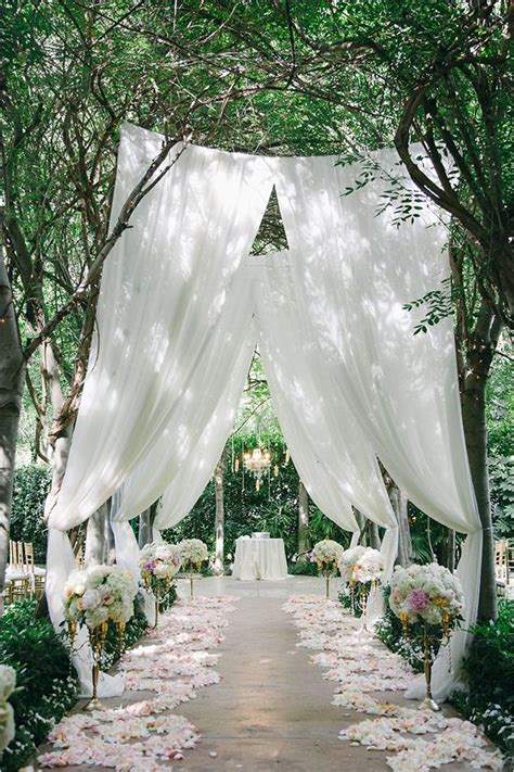 wedding inspiration an outdoor ceremony aisle wedding bells 895 best wedding ceremony decor images on