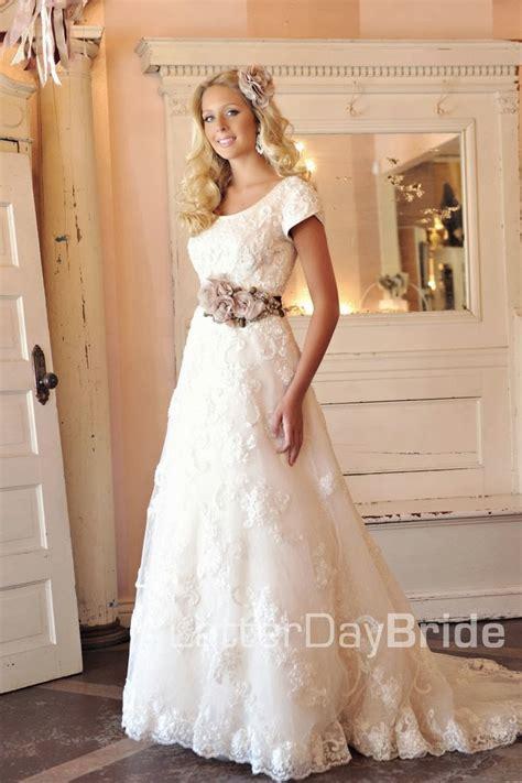 Modest Wedding Dresses by Modest Wedding Dresses Latter Day David