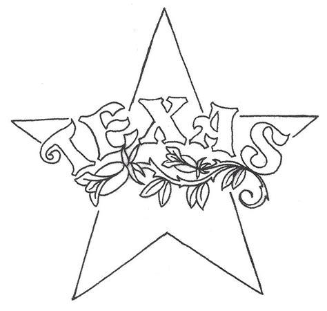 texas star tattoo designs design