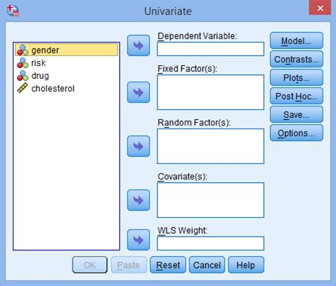 spss tutorial glm how to perform a three way anova in spss statistics
