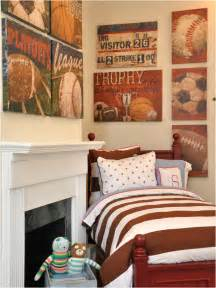 boys sports bedroom themes room design ideas