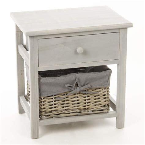 table de nuit tiroir table de nuit table de chevet en bois avec 1 tiroir 1