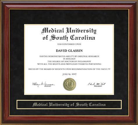 Of South Carolina Professional Mba Diploma by Of South Carolina Musc Mahogany