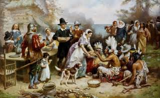 describe the first thanksgiving the first thanksgiving international student news