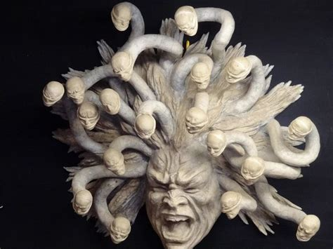 Angel Sculptures the medusa mask picture of ca macana venice tripadvisor