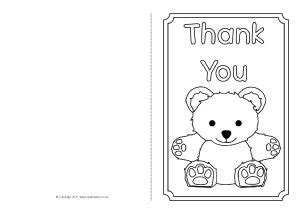 free template coloring thank you cards thank you card template for journalingsage
