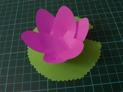 Lotus Flower Paper Craft - 25 best ideas about paper lotus on crepe