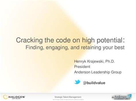 Cracking The Code 2 by Cracking The Code On High Potential Finding Engaging And