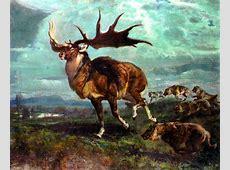 Wallpaper Giant elk Animals Ancient animals Irish Elk