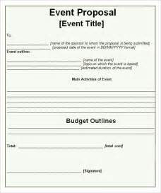 sample event proposal template 15 free documents in pdf