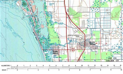 where is bonita springs florida on a map bonita springs 1985