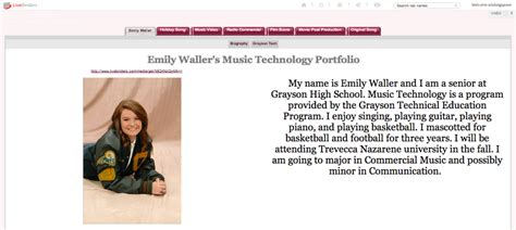 eportfolio templates best photos of student portfolio exles college