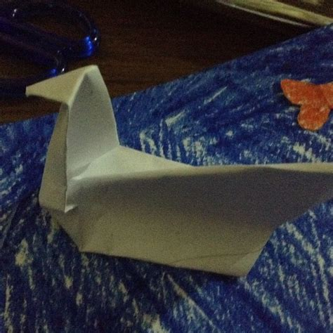 Wikihow Origami Swan - how to fold an origami duck 11 steps with pictures