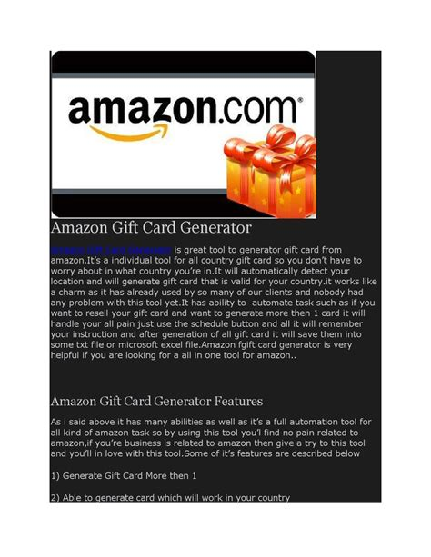 Amazon Gift Card Generator No Survey Android - amazon gift card generator no survey by inkosxelimum issuu