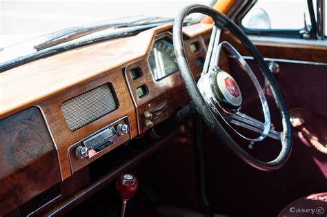 Cars With Wood Interior by 1958 Mg Magnette Car Portrait Luke Casey Photography