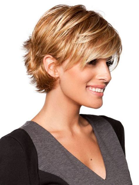 short hairstylescuts for fine hair with back and front view cute short sassy haircuts creating cute and sassy look
