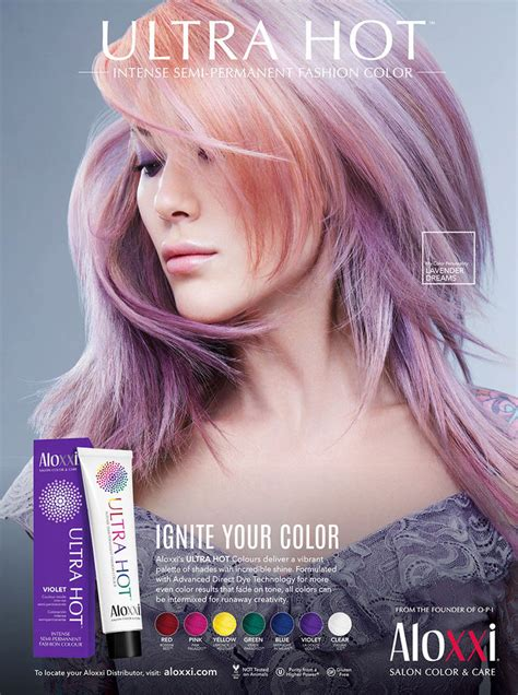 aloxxi hair color aloxxi salon color hair le book