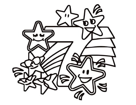 number the stars coloring page printable pictures of stars clipart best