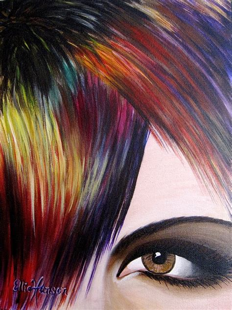 acrylic paint hair dye 17 best images about originals by ellie hanson on