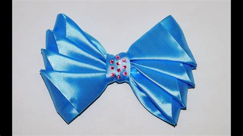 Ribbon Lc 1 30100 do it yourself crafts how to make simple easy bow ribbon hair bow tutorial diy and