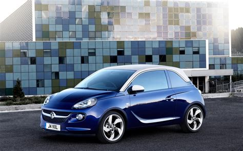 vauxhall blue vauxhall adam 2013 up the blue front left front