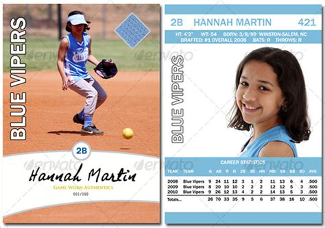 baseball card template 9 free printable word pdf psd