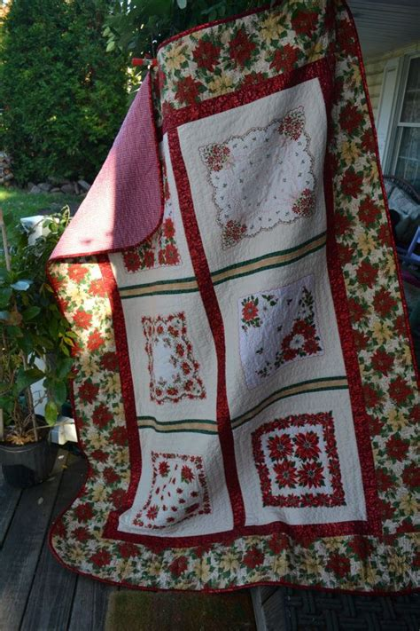 Hankerchief Quilt by Handkerchief Quilt Vintage Traditional Gift