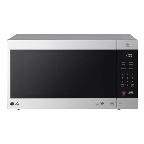 Microwave Lg Neochef lg electronics neochef 2 0 cu ft countertop microwave in stainless steel lmc2075st the home