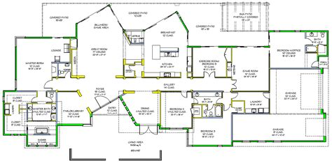 Luxury House Floor Plans by House Plans To Take Advantage Of View Search