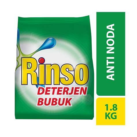 Rinso Bbk 1 8 Anti Noda jual rinso deterjen bubuk anti noda 1 8 kg harga kualitas terjamin blibli