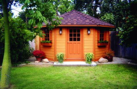 Poolhouse Plans five sided shed summerstyle